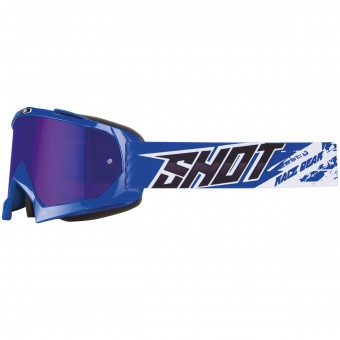 Motocross Goggles SHOT Chase Blue Iridium Blue