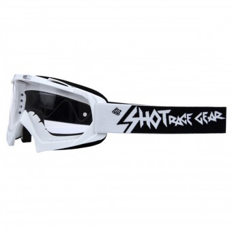 Motocross Goggles SHOT Creed White