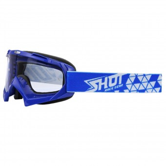 Motocross Goggles SHOT Creed Blue