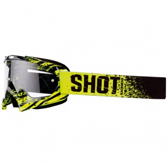 Motocross Goggles SHOT Creed Broke Matt Fluo