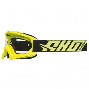 Motocross Goggles SHOT Creed Neon Yellow