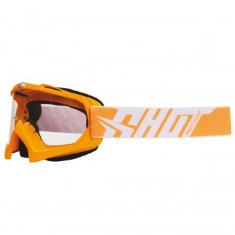 Motocross Goggles SHOT Creed Neon Orange
