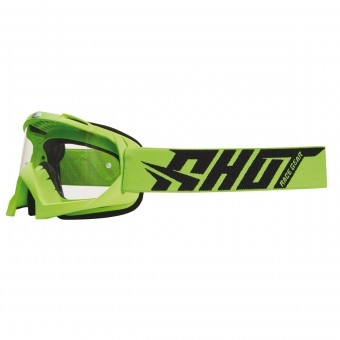Motocross Goggles SHOT Creed Neon Green