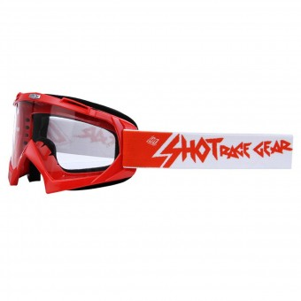Motocross Goggles SHOT Creed Red