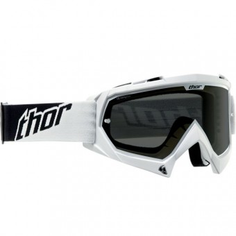 Motocross Goggles Thor Enemy Sand White