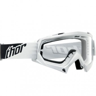 Motocross Goggles Thor Enemy White Kids
