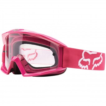 Motocross Goggles FOX Main Hot Pink
