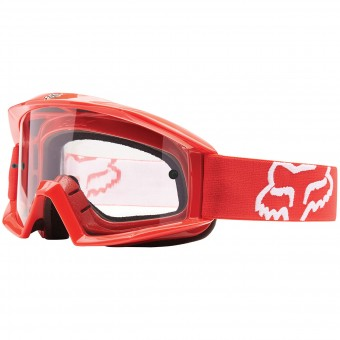 Motocross Goggles FOX Main Red Kid
