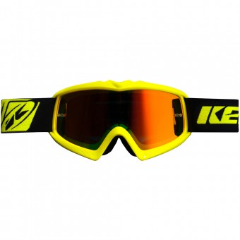 Motocross Goggles Kenny Performance Neon Yellow Kid