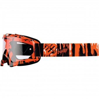 Motocross Goggles Freegun YH-16 Slime Neon Orange