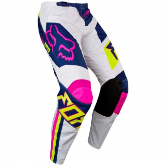 Motocross Trousers FOX 180 Falcon Navy White Pant Child 045