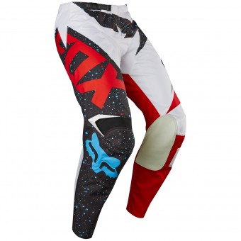 Motocross Trousers FOX 180 Nirv Red White Pant 054