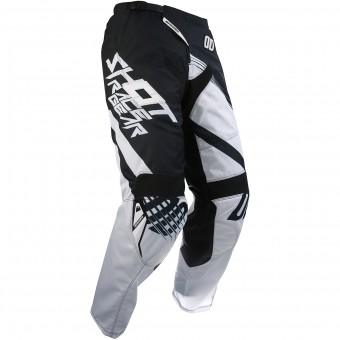 Motocross Trousers SHOT Contact Claw Black Pant