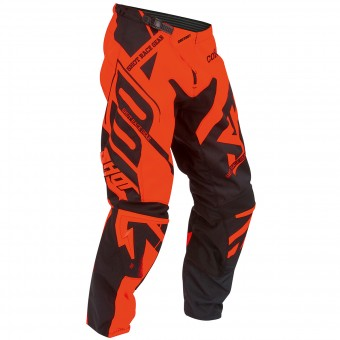 Motocross Trousers SHOT Contact Raceway Neon Orange Pant