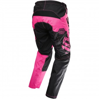 Motocross Trousers SHOT Devo Fast Neon Green Pant Kid