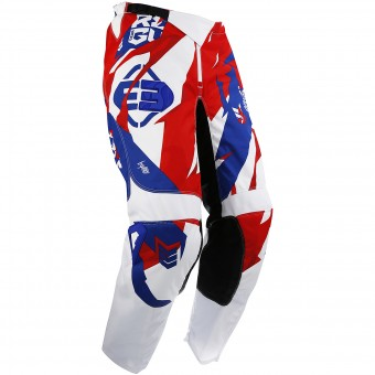 Motocross Trousers Freegun Devo Honor Blue Red Pant
