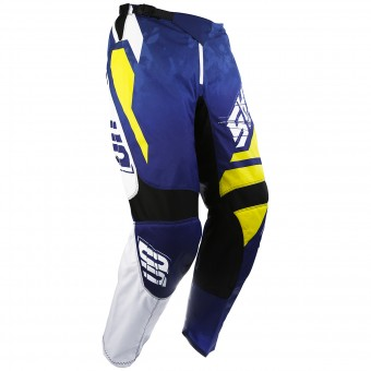 Motocross Trousers SHOT Devo Squad Blue Yellow Pant