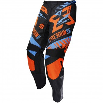 Motocross Trousers Freegun Devo Trooper Neon Orange Pant Kid