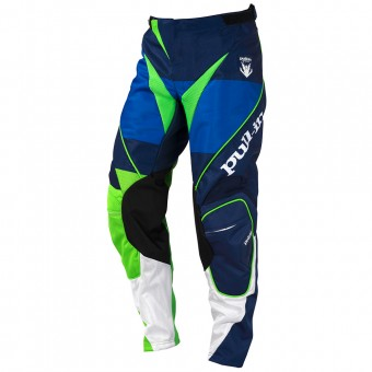 Motocross Trousers pull-in Fighter Blue Green Pant