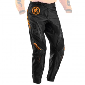 Motocross Trousers Thor Phase Gasket Flo Orange Pant Kid