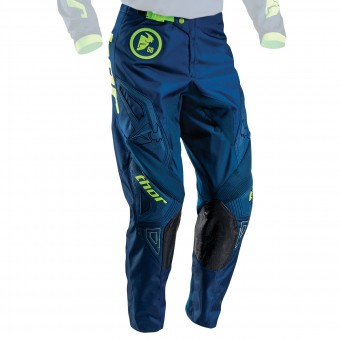 Motocross Trousers Thor Phase Gasket Navy Lime Pant Kid