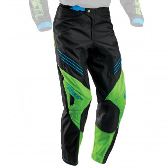 Motocross Trousers Thor Phase Hyperion Black Green Pant