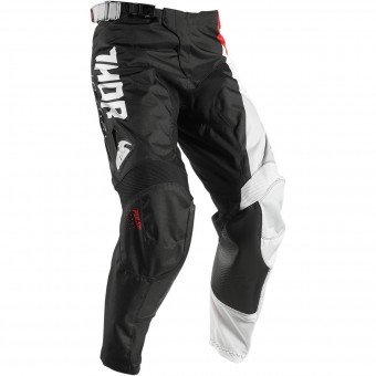 Motocross Trousers Thor Pulse Aktiv Black Red Pant Kid
