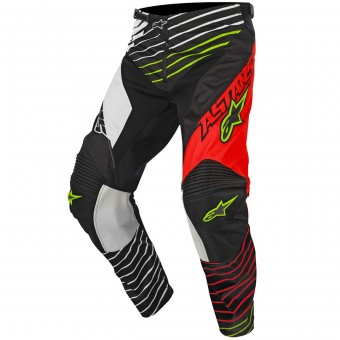 Motocross Trousers Alpinestars Racer Braap Red White Pant Child