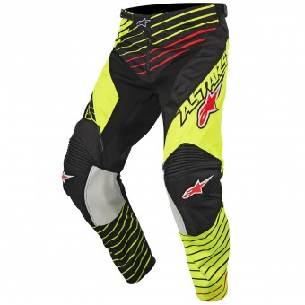 Motocross Trousers Alpinestars Racer Braap Yellow Fluo Pant
