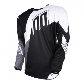 Motocross Jerseys SHOT Devo Alert Black White