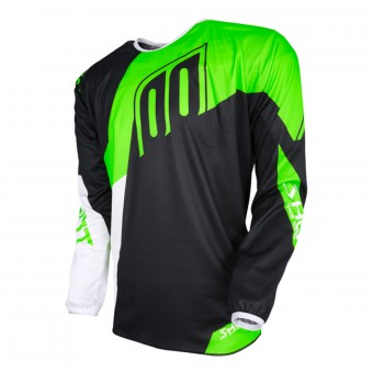 Motocross Jerseys SHOT Devo Alert Neon Green