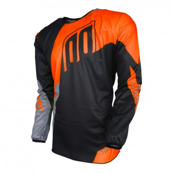 Motocross Jerseys SHOT Devo Alert Neon Orange