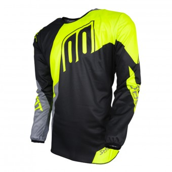 Motocross Jerseys SHOT Devo Alert Neon Yellow