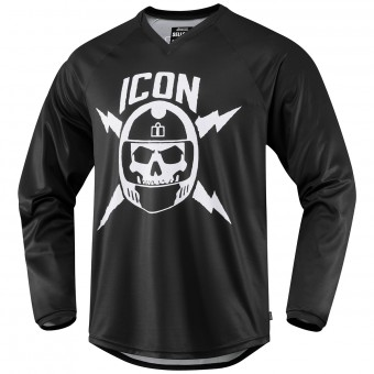 Motocross Jerseys ICON Sellout Black
