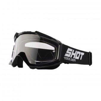 Motocross Goggles SHOT Assault Black