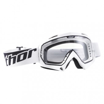 Motocross Goggles Thor Enemy White