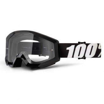 Motocross Goggles 100% Strata Outlaw Clear lens