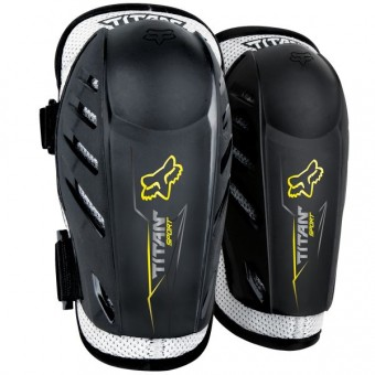 Motocross Elbow Protectors FOX Titan Sport Elbow Black