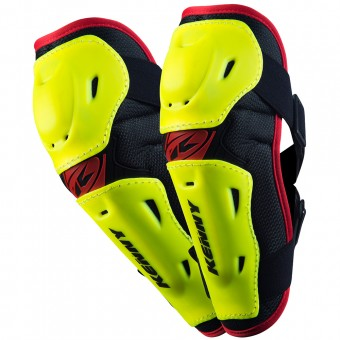 Motocross Elbow Protectors Kenny Elbow Guards Neon Yellow Kid