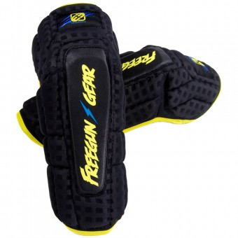 Motocross Elbow Protectors Freegun Elbow Protection Black