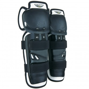 Motocross Knee Protectors FOX Titan Sport Knee Black