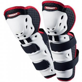 Motocross Knee Protectors Kenny Knee Guards White