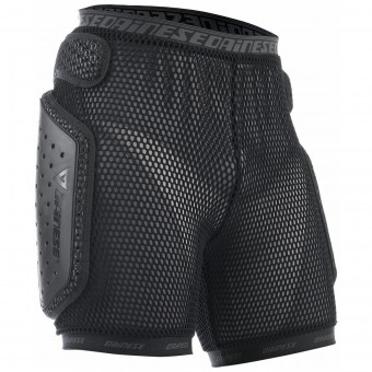 Motocross Body Armour Dainese Hard Short E1 Black