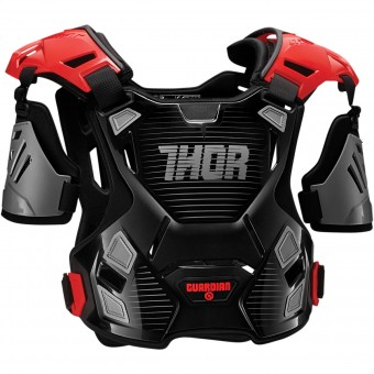 Chest Protectors Thor Guardian Black Red