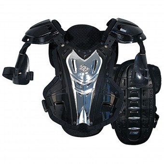 Chest Protectors SHOT Stone Guard Back Protector Clear Black Silver