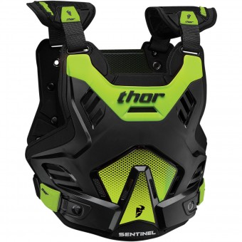 Chest Protectors Thor Sentinel GP CE Black Green