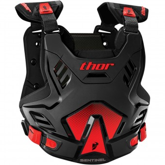 Chest Protectors Thor Sentinel GP CE Black Red
