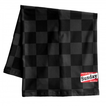 Bandanas and Neck Warmers Sunday SpeedShop Checkerboard Black