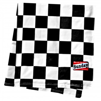 Bandanas and Neck Warmers Sunday SpeedShop Checkerboard