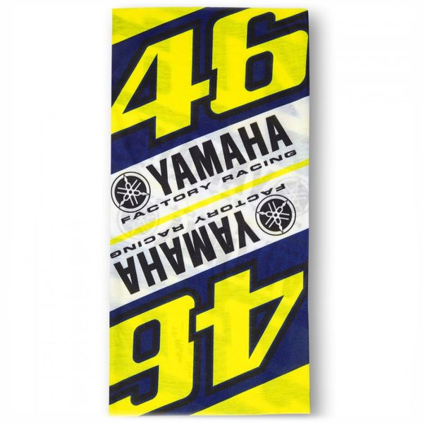 Bandanas and Neck Warmers VR 46 Neck Tube Yamaha VR46